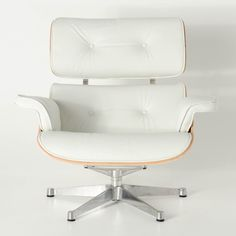 white eames lounge chair replica wedding covers chester leather ottoman pinterest milano republic furniture premium italian with