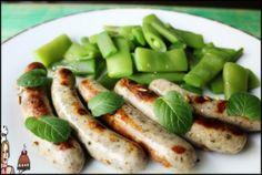 Salsichas Nüremberg com feijão verde e funcho ♥♥♥ - http://gostinhos.com/salsichas-nuremberg-com-feijao-verde-e-funcho-%e2%99%a5%e2%99%a5%e2%99%a5/