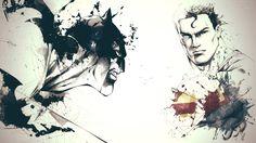 batman stained glass patterns | Batman and Superman - world's finest wallpaper 1280x800 Batman and ...