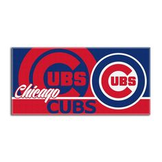 Use this Exclusive coupon code: PINFIVE to receive an additional 5% off the Chicago Cubs MLB Short Stop Beach Towel at SportsFansPlus.com
