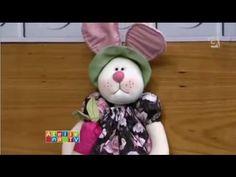 Coelha e Boneca Vivi Prado - Ateliê na TV (02/03/2015)