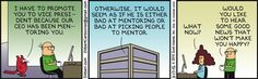 Have To Promote Wally - Dilbert by Scott Adams
