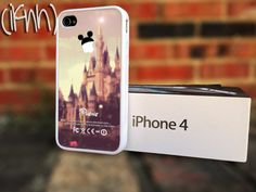 Disney iPhone 4 or 4S 5 Case - Disney Themed iPhone Custom Mickey Mouse Case. $15.00, via Etsy.