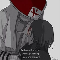 """If you don't let your past die, your past won't let you live."" -unknown The artist name is in the lower right corner. #uzumaki #naruto #uchiha #sasuke #anime #narutoshippuden #angst #sasunaru #narusasu #dobe #teme #otp"