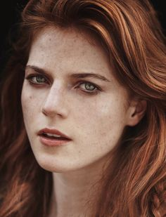 Rose Leslie - InStyle UK - November 2014     Photographed by Thanassis Krikis, just natural and stunning I love this