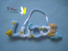 El Bosque de Lulú: Nombre en fieltro para Luca