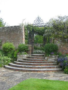 Great Maytham Hall - E. Lutyens, Architect (another secret garden gate)