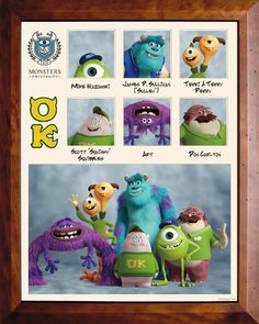 Monsters University Fraternity OK ---- just saw monsters university last night