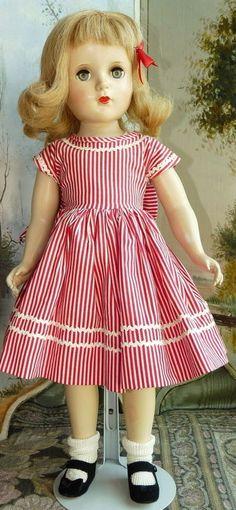Madame Alexander Hard Plastic  with Tagged Dress - Bunny's Babies #dollshopsunited