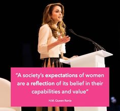 Rania Al Abdullah Quotes, Sayings, Images & Best Lines Queen Rania of Jordan Quote by Rania Al-Abdullah Rania's Dubai speech Rania Al Abdullah Photos