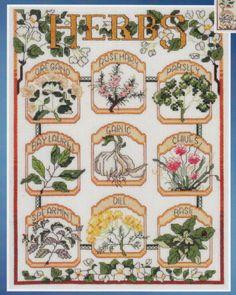 The Herb Garden Hernandez Cross Stitch Kit | eBay