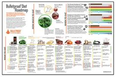 Bulletproof Diet Roadmap Poster