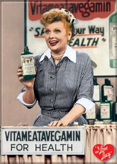 Choose from our many magnets to stuff goodie bags with! I Love Lucy Vitameatavegamin Magnet | LucyStore.com, $3.95
