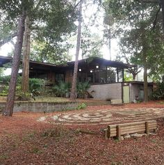 Mid-Century Modern House in Charter Point Neighborhood, Old ...