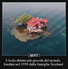 L'isola abitata più piccola del mondo, fondata nel 1950.. Video, Dumb And Dumber
