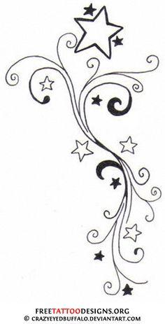 Star Tattoos Designs Star Tattoos | Shooting Stars and Nautical Star Tattoo Designs