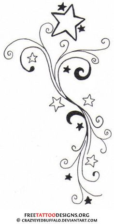 Star Tattoos Designs Star Tattoos | Shooting Stars and Nautical Star Tattoo Designs