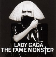 6. Lady Gaga, The Fame Monster - The 50 Best Pop Album Covers of the Past Five Years | Complex