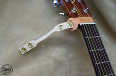 Guitar Strap Neck Attachment. Leather with by MeadowgateLeather
