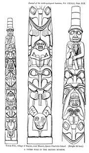 tlingit totem poles coloring pages - photo#21
