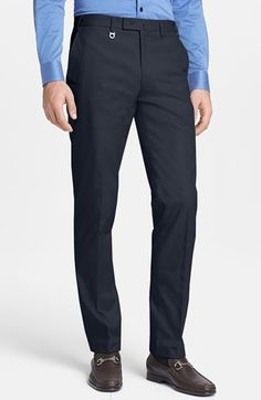 Salvatore Ferragamo Pleated Chino available at #Nordstrom