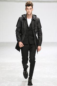 sportswear/tailored. Kris Van Assche Spring 2013 Menswear