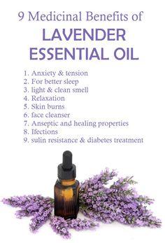 Top 9 Health Benefits of Lavender oil. Natural Home Remedies, Natural Healing, Oil Image, Health Chart, Lavender Benefits, Mental Health Center, Beauty Life Hacks Videos, Skin Burns, Diy Beauty Treatments