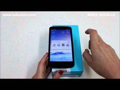 Huawei Honor 3C vídeo Unboxing review en Tudualsim