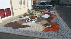 parterre avec cailloux | Parterre de cailloux ( devant de ma maison ) - Blog de Paysagiste49120