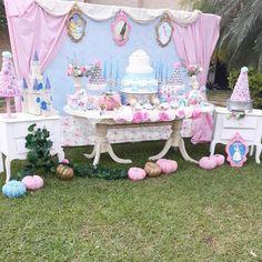 Fiesta infantil para niña con tema de cenicienta (31) - Decoracion de Fiestas Cumpleaños Bodas, Baby shower, Bautizo, Despedidas