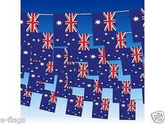 Huge 33ft oz #australia  ##australian flags #bunting ,  View more on the LINK: http://www.zeppy.io/product/gb/2/261292176530/