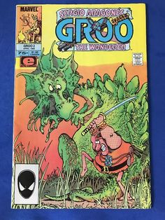 GROO The WANDERER 1985 Series #2 Comics Book EPIC April Sergio Aragone's MARVEL