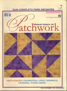 Manual Basico de Patchwork 7 - Lourdes Perez - Álbumes web de Picasa Web Gallery, Picasa Web Albums, Flying Geese, Book Quilt, Origami, Patches, Quilts, Magazines, 1