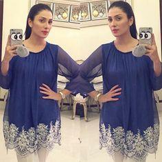 Latest Pakistani Dresses, Pakistani Fashion Party Wear, Pakistani Wedding Outfits, Pakistani Dress Design, Stylish Dresses For Girls, Beautiful Dresses For Women, Wedding Dresses For Girls, Casual Dresses, Ayeza Khan