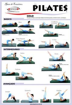 Pilates Workout Sheet