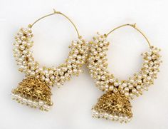 Traditional Kadi Dull Earring - Indian Imitation Jewellery Indian Imitation Jewellery
