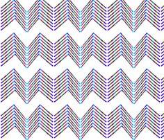 multicolorchevron fabric by madrehijadesign on Spoonflower - custom fabric