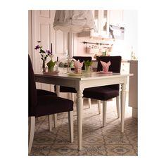 INGATORP Ruokapöytä, jatkettava IKEA Pöydässä on 1 jatkopala ja 4–6 istumapaikkaa. Pöydän kokoa on mahdollista muuttaa tarpeen mukaan.