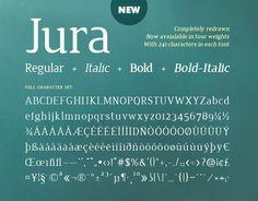 Free font Jura