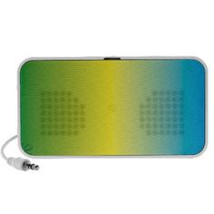 Degraded rectangle design, blue, yellow, green