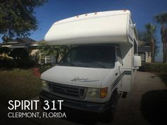 2004 Itasca Spirit 31T for sale  - Clermont, FL | RVT.com Classifieds Class C Rv, Travel Trailers For Sale, Rv For Sale, Recreational Vehicles, Florida, Spirit, Pop, Popular, Trailer Homes For Sale