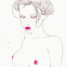 compilation of paintings about female body