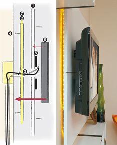 Ideia para instalação de painel de TV Detalhes: http://casa.abril.com.br/materia/sala-clara-e-descontraida-por-10-x-r-620?utm_source=redesabril_casas&utm_medium=facebook&utm_campaign=redesabril_minhacasa#2
