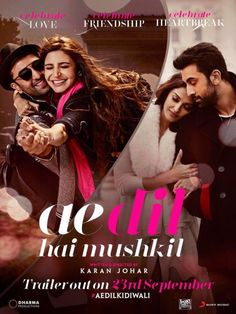 Aishwarya-Ranbir-Anushka-Fawad's Ae Dil Hai Mushkil's trailer to come out this Friday