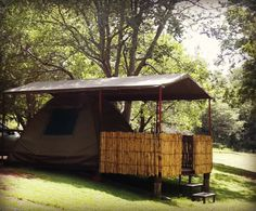 Bobbejaanskloof Tent Camping, Campsite, Glamping, Places To See, South Africa, Gazebo, Beautiful Places, To Go, Shed