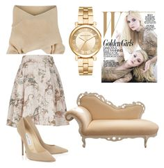 """""""greatone3"""" by elifappel on Polyvore featuring WithChic, Melissa McCarthy Seven7, Michael Kors and plus size clothing"""