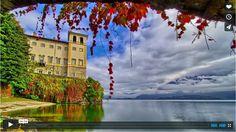 L'autunno colora il lago di Como e la Valtellina