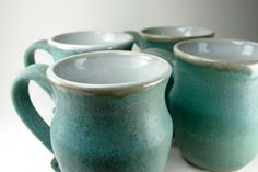 Weathered Blue Mug. $17.00, via Etsy.