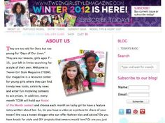 We are on your Kindle! Tween Girl Style Magazine by Tween Girl Style Magazine, http://www.amazon.com/dp/B00AU9GNF2/ref=cm_sw_r_pi_dp_AJy-qb0AVDBQP