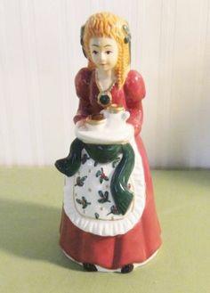 Vintage Little Girl Christmas Funnel/Pie Bird Kinds Of Pie, Pie Bird, Fruit Pie, Pie Plate, Lost Art, Little Girls, Birds, Whistles, Vintage